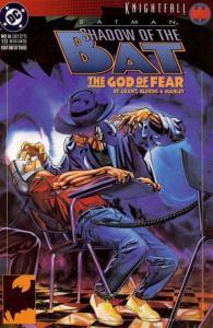 Batman: Shadow of the Bat #16 (Sep 1993, DC) THE GOD OF FEAR SCARECROW
