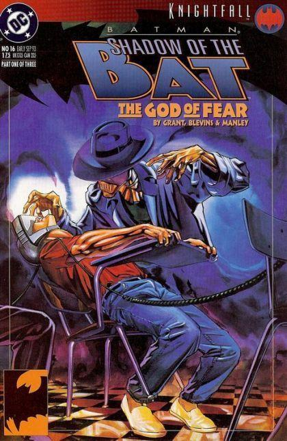 Batman: Shadow of the Bat #16 (Sep 1993, DC) THE GOD OF FEAR SCARECROW