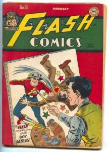 The Flash Comics #80 1947- Hawkman- Atom- Ghost Patrol G