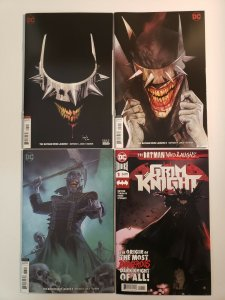Batman Who Laughs #1-3 variants  Plus The Grim Knight #1 DC Universe VF/NM