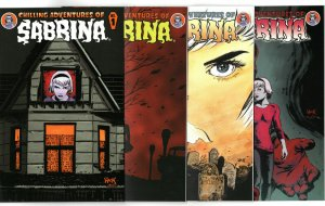 Chilling Adventures of Sabrina 1 - 4 & Comicfest Season 2 #1