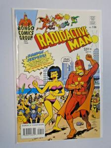Radioactive Man (2000 Bongo 2nd Series) #136, Water Damage 5.0 - 2000