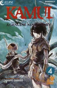 Legend of Kamui, The #4 VF/NM; Eclipse | save on shipping - details inside
