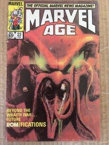 Marvel Age #23 (1985)