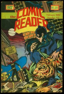 Comic Reader #177 1980- Fanzine-Catwoman & Batgirl cover VG