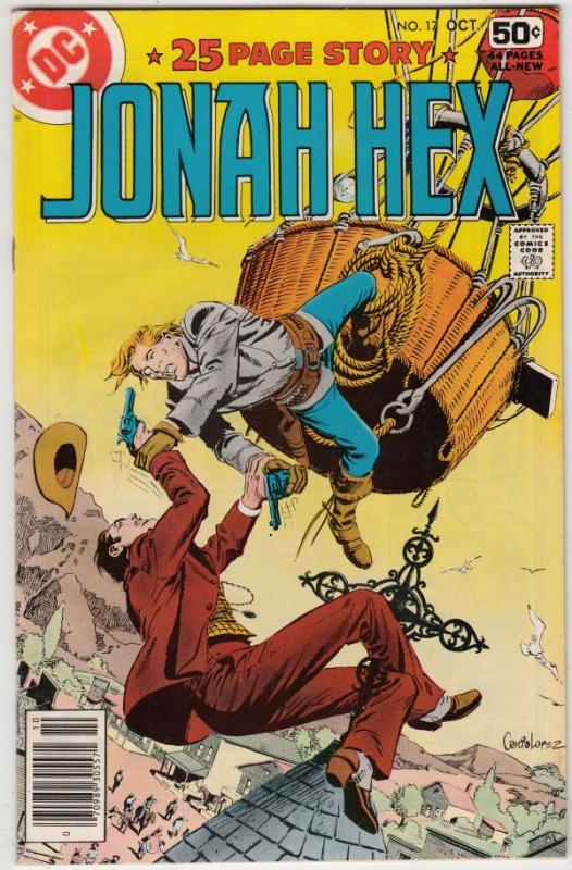 Jonah Hex #17 (Oct-78) NM/NM- High-Grade Jonah Hex