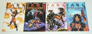 Fang: Testament #1-4 VF/NM complete series - kevin j taylor bad girl exotica set
