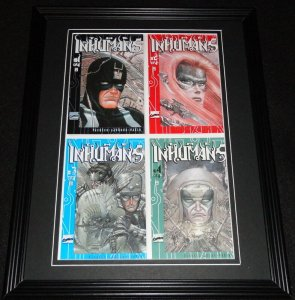 Inhumans #1-4 Framed Cover Photo Poster 11x14 Official Repro