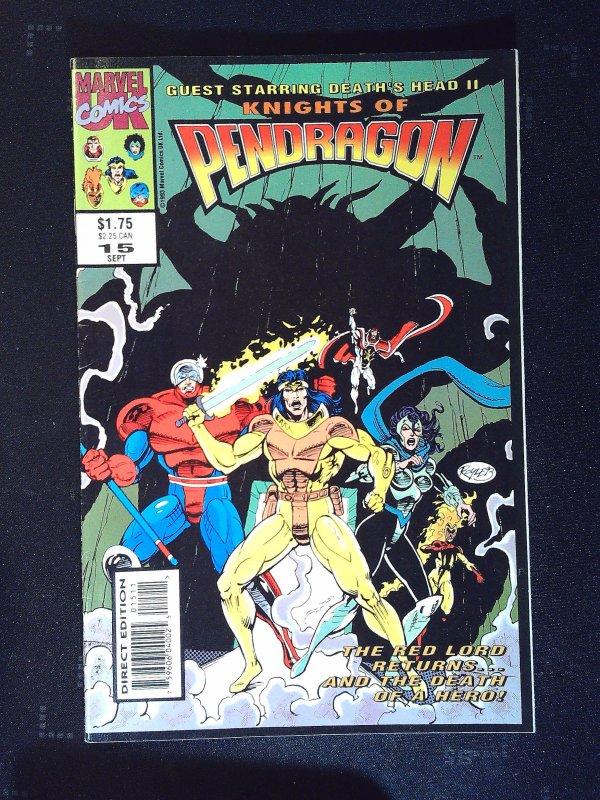 Knights of Pendragon (UK) #15 (1993)