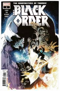 Black Order #1 Warmasters Of Thanos (Marvel, 2018) NM