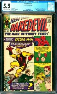 Daredevil #1 CGC 5.5