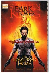 STEPHEN KING : DARK TOWER LONG ROAD HOME #1, 2008, NM+, more SK in store