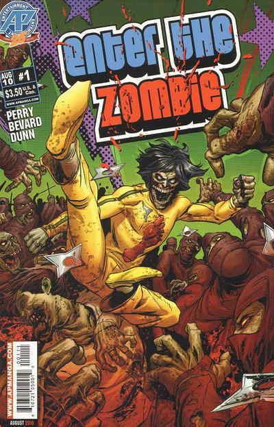 Enter the Zombie #1 VF/NM; Antarctic | save on shipping - details inside