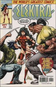 Marvel ELEKTRA (1996 Series) #10 VF/NM