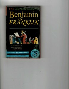 3 Books Benjamin Franklin Washington Confidential Murder Wears Mukluks JK17