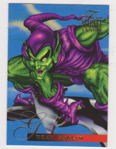 1995 Flair Marvel Annual #58 Goblin Legacy