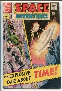 SPACE ADVENTURES #2 1968-CHARLTON-STEVE DITKO-vg/fn
