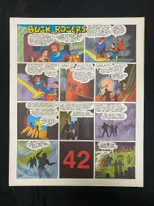 Buck Rogers #42 - Sunday pages #493-504- large color reprints