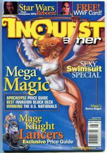 INQUEST #76, NM, Joseph Linsner, Serra Angel, Dawn, sealed w/ Star Wars Jedi pk