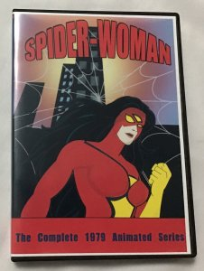 Spider-Woman, The Complete 1979 Animated Series, DVD 3-disc set, excellent
