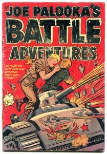 Joe Palooka's Battle Adventures #72 1952- Commies- Harvey comics-Hitler VG-