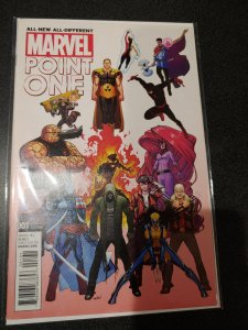 ALL NEW ALL DIFFERENT POINT ONE #1 MARQUEZ B VARIANT [Marvel Comics, 2015]