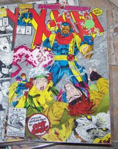X MEN # 8  1992  Marvel gambit vs bishop  + ghost rider  rogue
