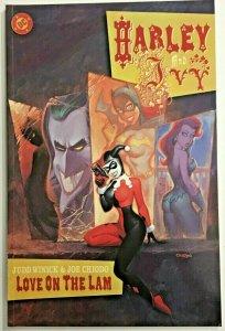 HARLEY & IVY 'LOVE ON THE LAM' PRESTIGE FORMAT NM 2001 DC COMICS