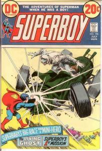 SUPERBOY 196 VG+   July 1973 COMICS BOOK
