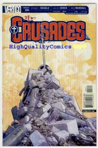 CRUSADES #20, NM+, Knight, Vertigo, Seagle, Jones, 2001, Fourth Crusade