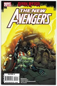 New Avengers #55 (Marvel, 2009) FN