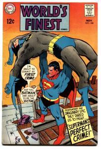 WORLDS FINEST #180 1968-SUPERMAN comic book -BATMAN-NEAL ADAMS