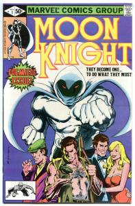 MOON KNIGHT #1, VF, 1980, Bill Sienkiewicz, more Bronze & Marvel in store