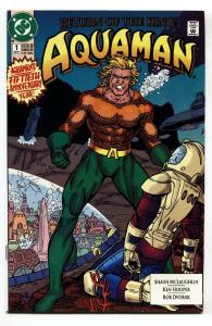 Aquaman #1-1991-comic book-DC-First issue NM