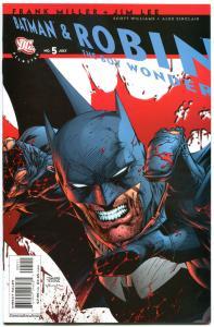 BATMAN & ROBIN the BOY WONDER #5 6 7-10, VF+, 6 iss, Jim Lee, Frank Miller,