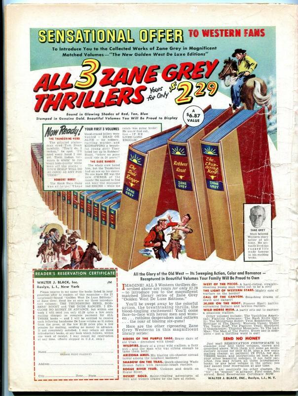 True Western Adventures Magazine June 1960- Milton Sharp VG