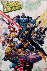 X-Men Legends Folded Promo Poster | Brett Booth (24 x 36) New! [FP23]
