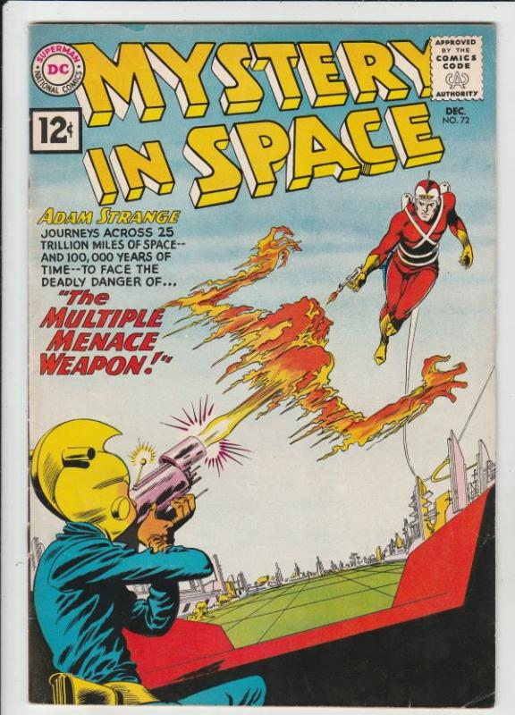 Mystery in Space #72 (Dec-61) VF+ High-Grade Adam Strange