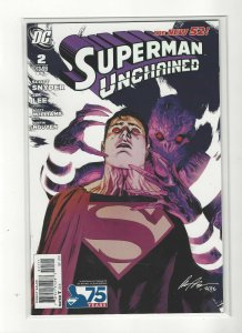 Superman Unchained #2 Rafeal Alburquerque Variant New 52 Unread NM DC Comics