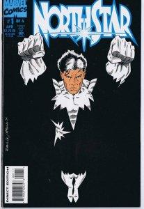 Northstar #1 ORIGINAL Vintage 1994 Marvel Comics