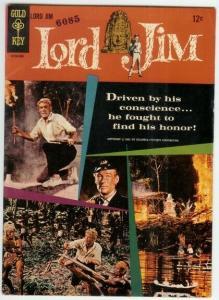 LORD JIM (1965 GOLD KEY) N.N. F- Peter O Toole photo co COMICS BOOK
