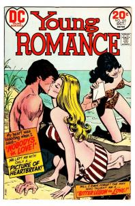 YOUNG ROMANCE-#195-comic book NICE ISSUE Swimsuit beach cvr