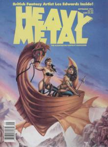 Heavy Metal #136 VF/NM; Metal Mammoth | save on shipping - details inside