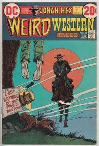 Weird Western Tales #17 (Nov-72) VF High-Grade Jonah Hex