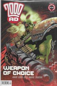 2000 AD #1274 FN Judge Dredd, Shakara, Storming Heaven, Bad Company