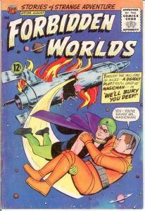 FORBIDDEN WORLDS 129 VG   August 1965 COMICS BOOK
