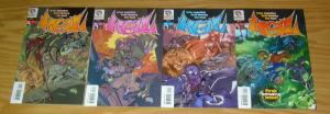 Hell #1-4 VF/NM complete series - brian augustyn - dark horse comics set lot 2 3
