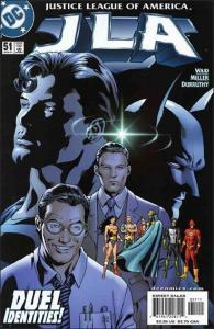 DC JLA #51 VF