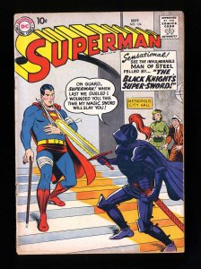 Superman #124 GD/VG 3.0 DC Comics