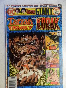 TARZAN FAMILY PRESENTS KORAK # 64 DC BRONZE JUNGLE ACTION KUBERT BURROUGHS